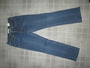 Levi's 505 LADIES retro JEANS denim trousers SIZE 8-10 STRAIGHT SLIM MID stretch