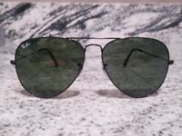 Ray Ban Aviator originals SunglassesRB3026 62mm black Frame classic black LENSES