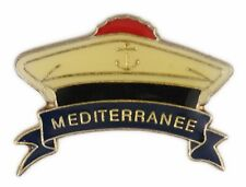 Pin's pin badge ♦ Béret marine nationale Méditérranée