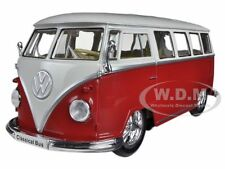 1962 VOLKSWAGEN CLASSICAL BUS LOW RIDER RED 1/24 BY WELLY 22095LR