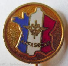 Insigne Boutonnière ANFASOCAF  Armée France émail ancien épinglette ORIGINAL