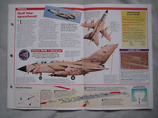 Aircraft of the World Card 7 , Group 7 - Panavia Tornado GR.Mk1, Gulf War Strike