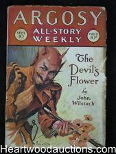 Argosy Sep 10, 1927 Classic Satan Narcotics Cvr