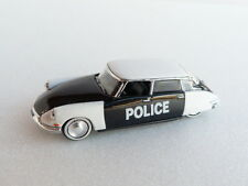 Atlas NOREV Voiture Citroën DS 19 Police 1958 1/87 eme