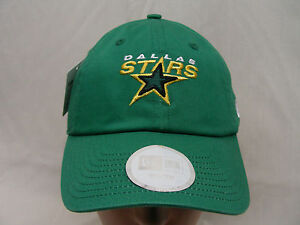 DALLAS STARS - YOUTH SIZE - EMBROIDERED - NEW ERA ADJUSTABLE BALL CAP HAT!