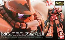 Bandai RG-2 RG Gundam MS-06S ZAKU II 1/144 scale kit