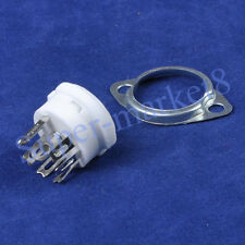 10pcs 7pin Ceramic MINI Tube Sockets for 12AF6 12EC6 6AQ5 hifi diy parts