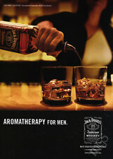 Jack Daniels Whiskey vintage print ad 2007 - Aromatherapy for Men