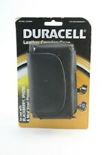 Duracell Leather Carrying Case DU9984 Blackberry iPhone & Most Smart Phones