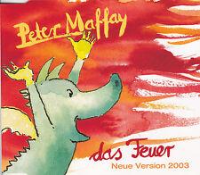 Peter Maffay - Das Feuer - Neue Version - Rare Promo Promotion Maxi Single CD