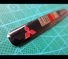 MITSUBISHI SPORT RALLIART EVO RALLY Lancer evolution JDM Car EMBLEM Badge #021