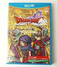 Nintendo Wii U Dragon Quest X Online Version 3 Dragon lore of ancient Japan GC
