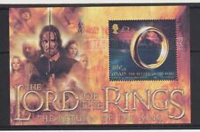 ISLE OF MAN MNH UMM STAMP SHEET 2003 THE LORD OF THE RINGS TRILOGY SG MS1124