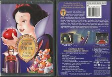 DISNEY'S SNOW WHITE PLATINUM EDITION DVD 2 DISC RARE OOP