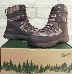 """Danner 8"""" Vital Waterproof Insulated Hunting Boots Size 9.5 EE 41555 $200 Camo"""