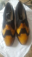Marci Vicci Genuine Leather and Genuine Snakeskin Shoes