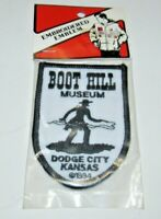 Boot Hill Museum Patch Vintage