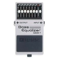 Boss GEB-7 Bass Equalizer | Bass Guitar EQ Effects Pedal FREE 2DAY
