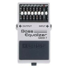 Boss GEB-7 Bass Equalizer   Bass Guitar EQ Effects Pedal FREE 2DAY