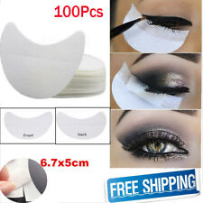 Eyelash Pad Under Eye Stickers Makeup Eye Shadow Eyeliner Shields Patches 100Pcs