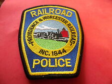 Providence and Worcester Railroad Police patch