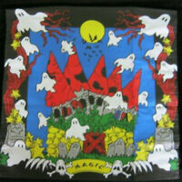 Haunted Silk/Hanky in Multicolor - Magic Tricks Metal Stage Magic Props Gimmick