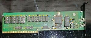 Commodore Amiga Macrosystem VLAB v1.0 Zorro Card, For Parts / Repair, As-Is
