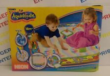 Tomy Aquadoodle Super Colour Deluxe Neon Water Drawing - 25% Larger Mat - 72373