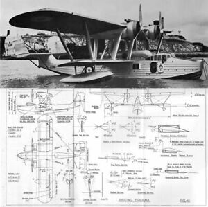 Saunders Roe A.27 SARO London Manual Flying Boat DVD 1930's Ex Rare RAF Pegasus