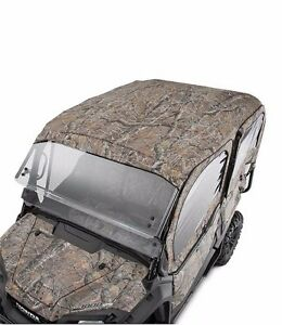 2016-2021 Genuine Honda Pioneer 1000-5 5P Camo Fabric Roof and Rear Panel