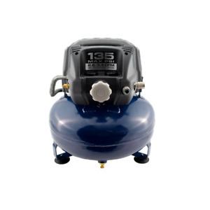 Campbell Hausfeld Pancake 6 Gallon Oil Free Portable Air Compressor, DC060000DI