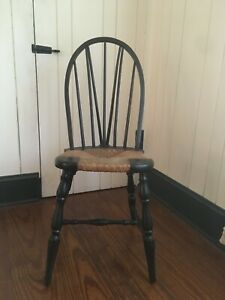Rush Seat Windsor Side Chair Culler Furniture Co