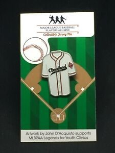 Cleveland Buckeyes Negro League jersey lapel pin-Throwback Classic