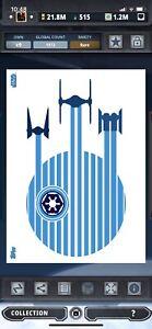 Topps Star Wars Digital Card Trader Death Star Geo-Linear Insert