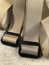 DSCP Defense Logistics Agency Tan Military Riggers Belts Size 44