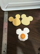 Disney Realistic Pretend Play Food Kitchen Mickey Mouse Egg Waffle & Toast