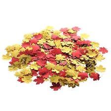 200pcs Aluminum Foil Maple Leaf Shaped Confetti Romantic Wedding Supplies Decor