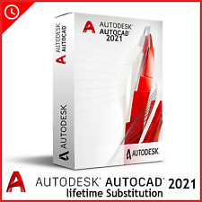 Autodesk autocad 2021 ✅ lifetime activation ✅ pre-activated version windows ✅