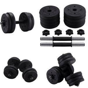 10-40KG Adjustable Dumbbells Free Weights Gym Dumbbell Rubber Fitness Exercise