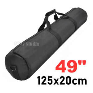 Travel Studio 125cm Padded Light Stand Carrying Bag Cases for Camera Tripod Kits