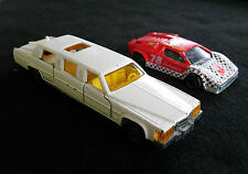 2 MAJORETTE Cars Made In France Up For Bid-Limousine #339 & Lamborghini #237