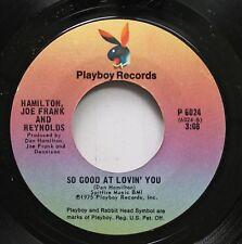 Rock 45 Hamilton,Joe Frank And Reynolds - So Good At Lovin' You / Fallin' In Lov