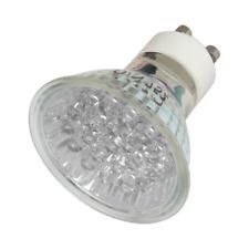 GU10 1Watt LED Bulbs Warm White 21 LED's Light - Low Energy - 6 Pack