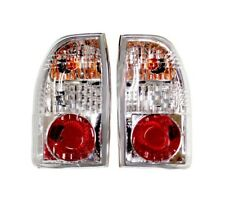 PAIR of CRYSTAL TYPE Rear Tail Lamps For Mitsubishi L200 Pickup K74 2.5TD 96-07