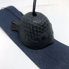 風鈴 FURIN METAL - Cloche à vent Carpe Koi - Made in Japan
