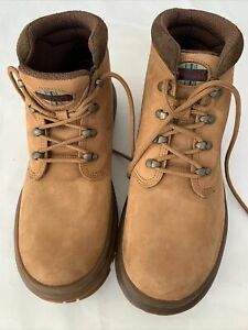JEEP MENS Leather Suede Low Ankle Outdoor Hiking Work Shoes SIZE 10M
