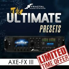 ✪ 5,000+ tones ✪ Fractal AXE FX 3 Presets Ultimate Collection v2.0 ✪
