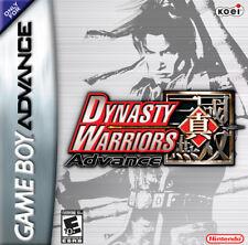 Dynasty Warriors Advance GBA New Game Boy Advance