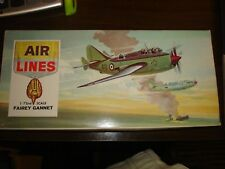 VINTAGE 1964 FROG-AIRLINES 1/72 SCALE Fairey GANNET NAVAL SPOTTER #9804-NO DECAL