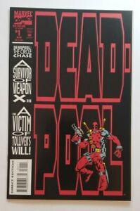 Deadpool: The Circle Chase #1 (Marvel 1993) 1st Solo Deadpool, 1st App Slayback!